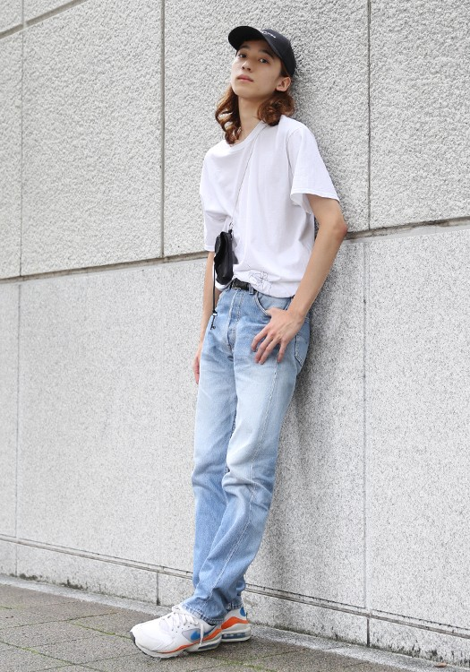 stylehunt,スタイルハント,street style,street snap,ストリートスナップ,fashion snap,ファッションスナップ,japan,men,tokyo,hikarionozaki,levi's,Niki,SUNSEA,drole de monsieur